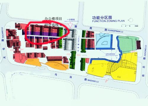 施工地方平面图
