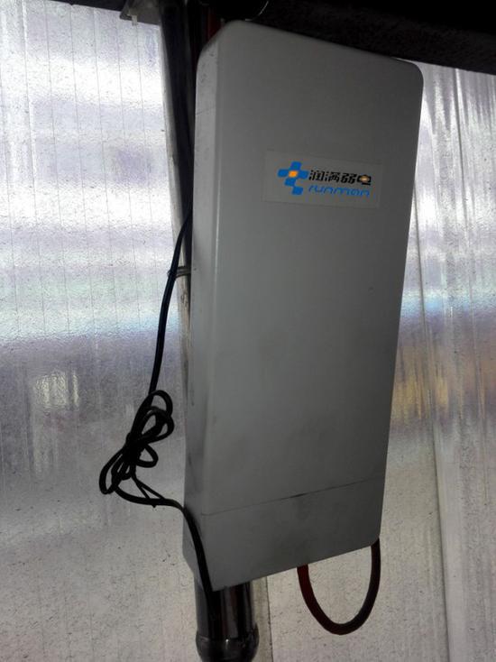 申通物流中转中心无线wifi覆盖整改方案壁挂式无线AP