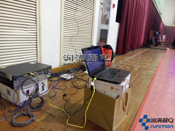 淘宝造物节buy+购物发布会现场无线wifi覆盖施工