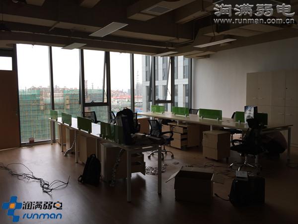 上海繁易电子办公室综合布线效果图2