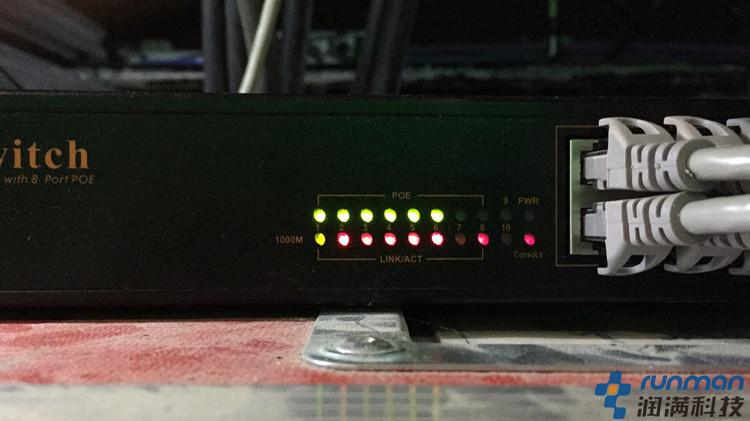 后端主干无线wifi搭建设备安装部署